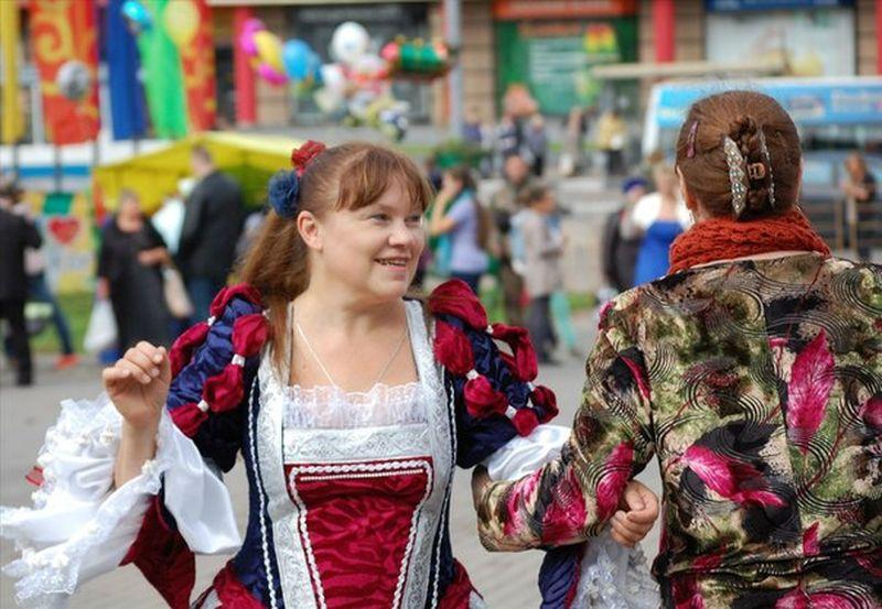 Бал на День города Москвы 2013